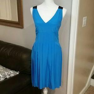 Marc Jacobs blue silk dress size 8